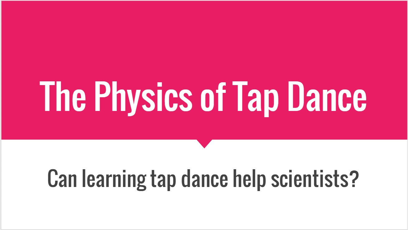 physics of dance News about physics commentary and archival information about physics from the new york times.